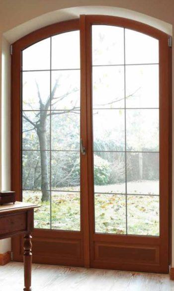 Portes-fenêtres bois var